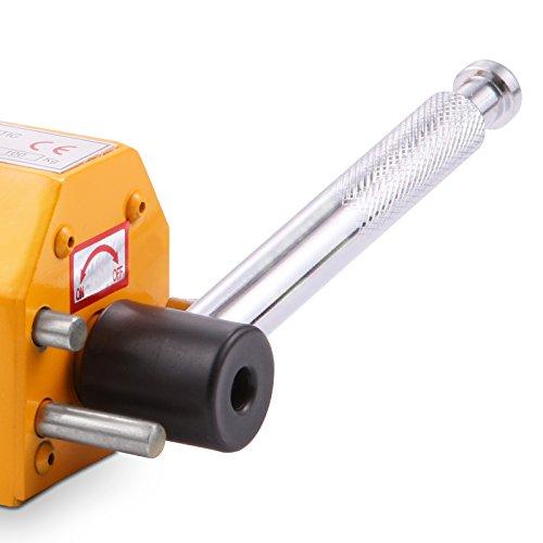 OrangeA 220LBS 100KG Steel Magnet Lifter Neodymium Magnetic Lifting Magnet Magnetic Shop Crane Metal Lifting Hoist (220LBS) by OrangeA (Image #3)