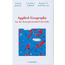 Applied Geography for the Entrepreneurial University
