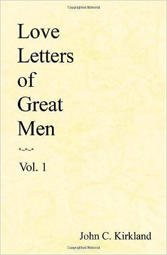 Love Letters Of Great Men: Volume 1: Amazon.es: John C ...