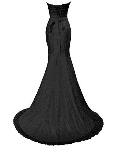Solovedress Women's Lace Wedding Dress Mermaid Evening