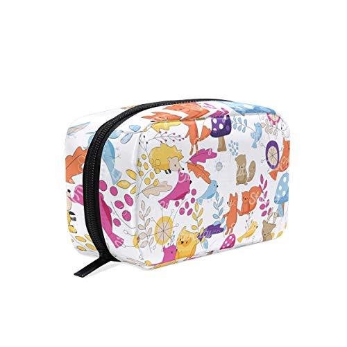 Dragon Sword Decoration Clip Art Cosmetic Bag for Women Travel,Square Shapes Portable Makeup Bag Purse Handbag ()