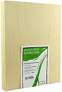 product image for American Easel 1 5/8 in. Cradled Wood Painting Panels 11 in. x 14 in. [PACK OF 2 ]