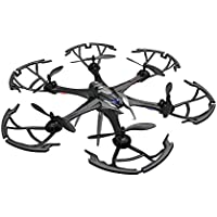 Owill i7H 2.4GHz 6CH 6 Axis Gyro RC Quadcopter Air Press Altitude Hold 5M Camera Helicopter (Black)