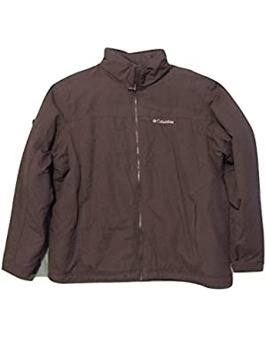 Mens Redwood Crest Exs Omni Shield Lined Jacket Brown (X-Large)