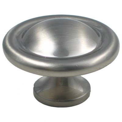 Mushroom Knob Finish: Satin Nickel