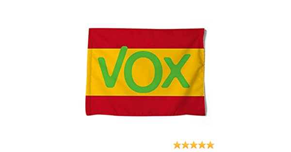 FTC Bandera Poliester España VOX. Medidas: 100 x 70 cm. por una ...