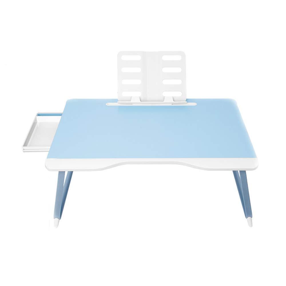 ventas en linea WENYAO Escritorio Plegable Plegable Plegable para computadora GYYZDZ en la Cama, Mesa de sofá, Marco de Lectura Multifuncional de aleación de Aluminio, Adecuado para el Escritorio de la habitación (Azul)  venta al por mayor barato