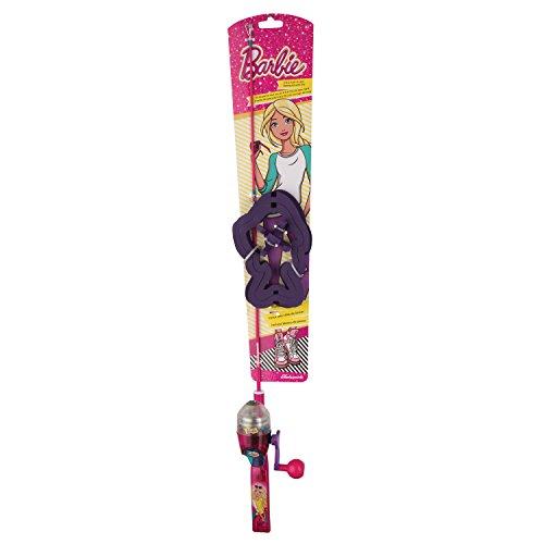 Fishing Kit Barbie - Shakespeare Barbie Lighted Fishing Kit
