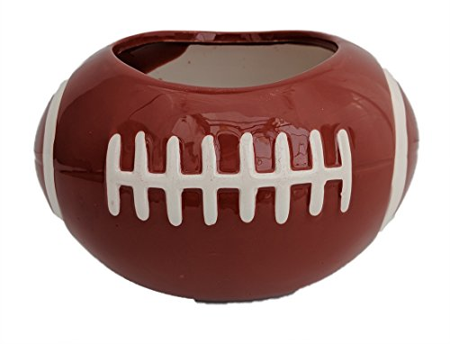 Football Ceramic Sports Planter - Opening - 3.5