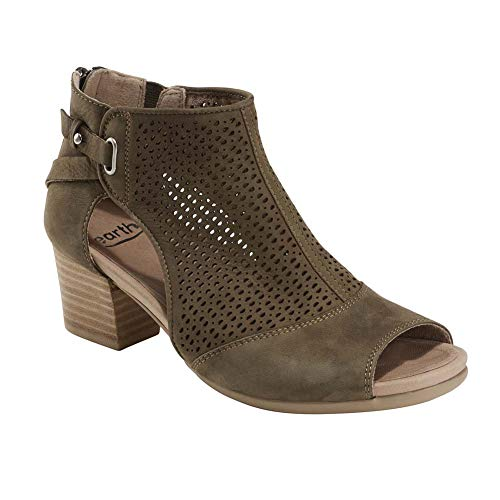Earth Shoes Ivy Sahara Women's Dark Olive 8 Medium US