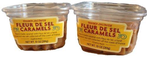 Trader Joe's Fleur De Sel Caramels - 2 Pack - Fleur De Sel Caramel