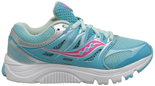 SAUCONY ZEALOT GIRLS (TURQUOISE/SILVER/CORAL)
