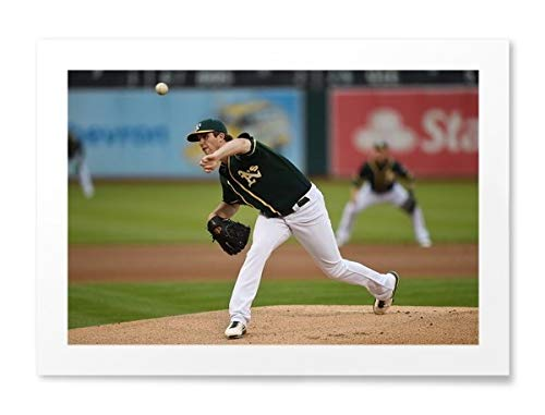 "Photos by Getty Images Drew Pomeranz of The Oakland Athletics - Unframed Print, Unframed, Matte, 2.5"" Border, 43x32"