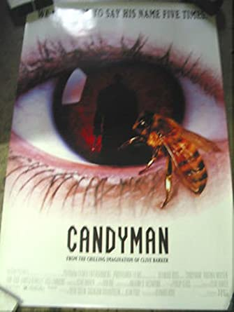 Candyman Original Us One Sheet Movie Poster Tony Toddclive