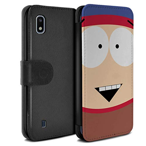 eSwish PU Leather Wallet Flip Case/Cover for Samsung Galaxy A10 2019 / Stan Design/Funny South Park Inspired Collection
