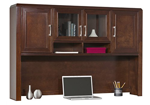 kathy ireland Home by Martin Concord Office Hutch - Martin Furniture Oak Executive Desk