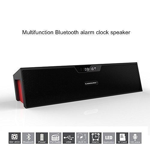 Portable Wireless Bluetooth Stereo Speaker with 2 X 5W Speak