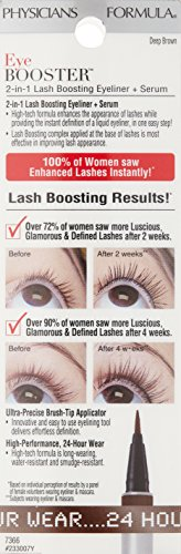 Eye Booster 2-in-1 Lash Boosting Eyeliner + Serum Deep Brown .016 Oz