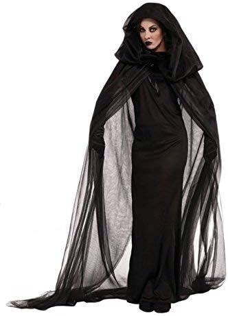 VENBON Capa con Capucha para Halloween, Cosplay, Disfraz ...