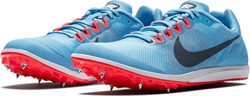 Wmns 5 10 De Crimson Zapatillas Mujer Blue 446 42 Nike bright Para Eu Fox D football Azul Zoom Rival Running fwnqgd