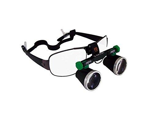 New FD-501-G Binocular Galileo Frame Loupe Magnifier Glasses 3.5X 550mm by KUNHEWUHUA