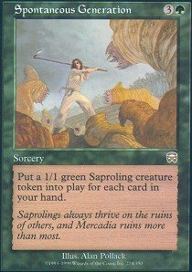 Magic: the Gathering - Spontaneous Generation - Mercadian Masques (Generation Spontaneous)