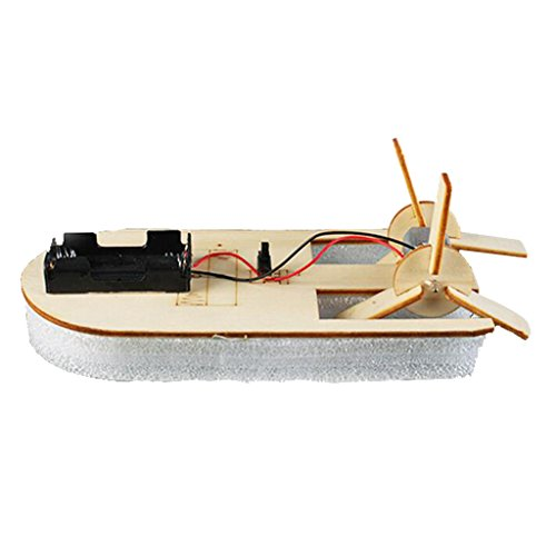 Jili Online Kids DIY Boat Vehicle Toy Wood Boat Ship Self-paint Model Construction Toy Playsets