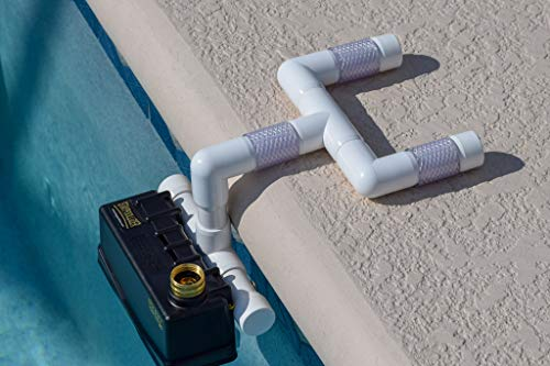 Staypoollizer Premium with Nxgen Flow Control (White) Automatic Pool Water Leveler