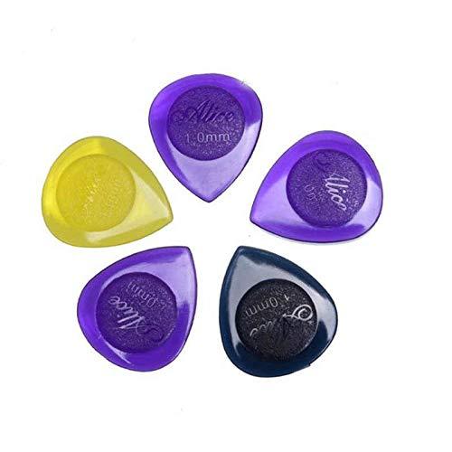 - Alice 6 x LARGE STUBBY GUITAR PICKS PLECTRUMS AP100JSM stubbies 1mm