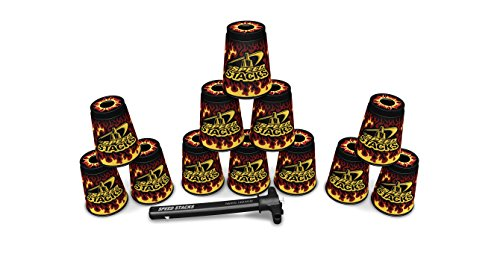 SPEED STACKS Set - Black Flame (Cup Stacking) (Speed Set Stacks)