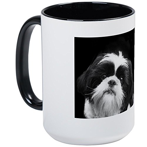 CafePress Shih Tzu Dog Large Mug Coffee Mug, Large 15 oz. White Coffee Cup