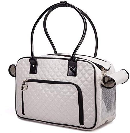 ペットの袋、 ペットバッグ、遠出ショルダーバッグ、レディースペットハンドバッグ、PUレザー素材、丈夫でスタイリッシュ、そして美しい、小動物 (Color : D)