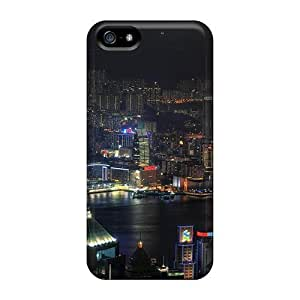 Awesome Design Dark Knight City Hard Case Cover For Iphone 5/5s