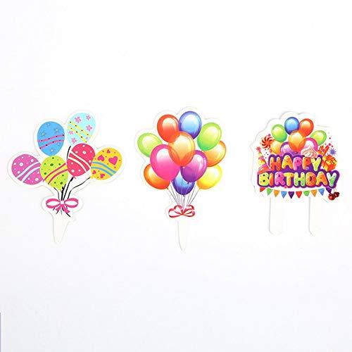 PeanutaocAC Kit de Decoraciones para Fiestas de cumpleaños ...