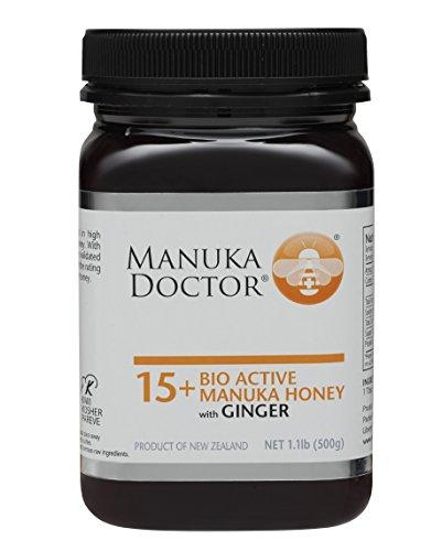 Price comparison product image Manuka Doctor Bio Active Honey,  15 Plus with Ginger,  1.1 Pound