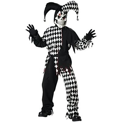 Evil Jester Costume - Large