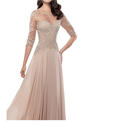 f5505309fab ... 3 4 Sleeves Mother of The Bride Dress 2018 Evening Dresses Party Gowns.    