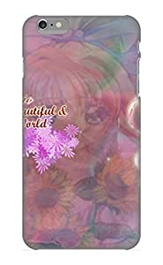 Quality Stylishgojkqt Case Cover With Anime Air Misuzu Kamio Nice Appearance Compatible With Iphone 6 Plus()