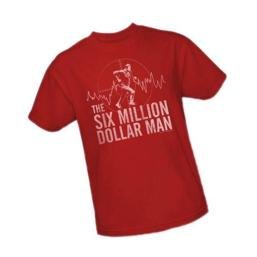 - Target -- The Six Million Dollar Man Adult T-Shirt, X-Large
