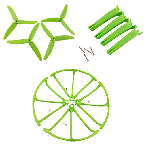 1 Set Landing Gear and Propeller and Protective Cover for X4 H502S H502E, UAV Drone & Parts & Accessories by SMOXX