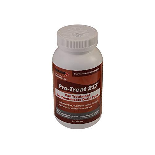 DiversiTech PROTREAT-217 Economy Drain Pan Treatment 200 Tablets (Economy Drain)