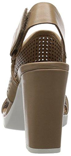 Clarks Pastina Malory Damen Slingback Pumps Beige (Sand Leather)