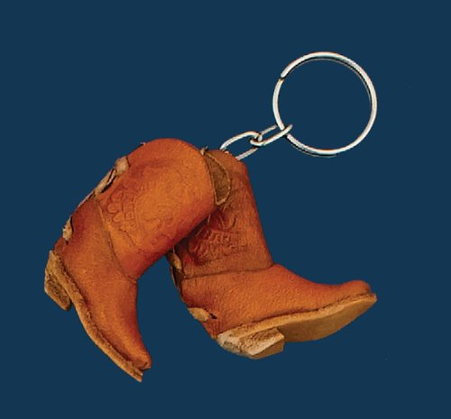Pair of Leather Boots Key Ring