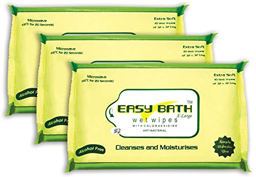 LIFEneed Easy Bath Wet Wipes – Pack of 3 x 10 Price & Reviews