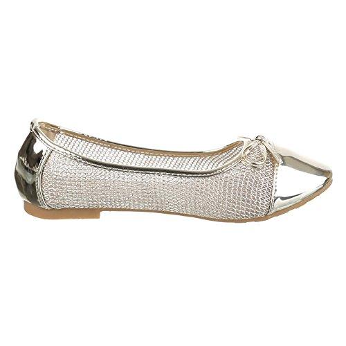 Ital-Design - Bailarinas Mujer Dorado - dorado