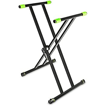 Amazon Com Gravity Ksx 2 Keyboard Stand X Form Double