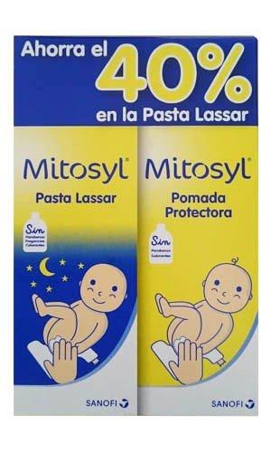 Pack Día y Noche Mitosyl Pomada Protectora + Pasta Lassar