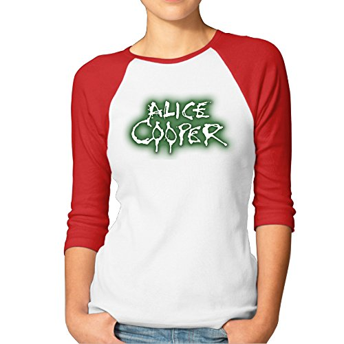 alice-cooper-logo-steamhammer-the-spiders-women-3-4-sleeve-tshirt