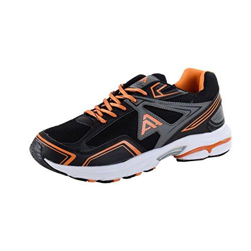 Negro de Zapatillas de Mujer para Schuhmarketing Interior Deportes Negro Sintético Negro HSM Material para 7AaYTqT