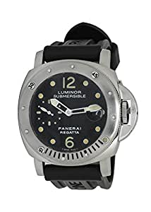 Officine Panerai Luminor Submersible automatic-self-wind mens Watch PAM199 (Certified Pre-owned)